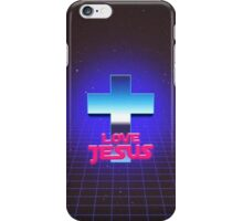 Love Jesus - 80´s Arcade iPhone Case/Skin