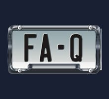 SHINY BLUE/GOLD LICENSE PLATE HOLDER FA-Q by butterflyscream