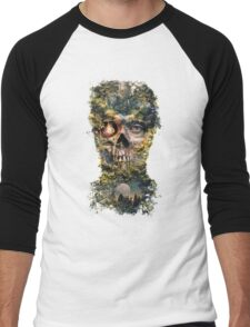 The Gatekeeper Dark Surrealism Art Men's Baseball ¾ T-Shirt