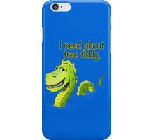 Loch Ness Monster Tree Fiddy iPhone Case/Skin