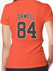 ORWELL - 84 Women's Fitted V-Neck T-Shirt
