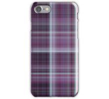 GRAPE PLAID iPhone Case/Skin