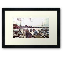 Victoria Bay, Victoria, Canada Framed Print