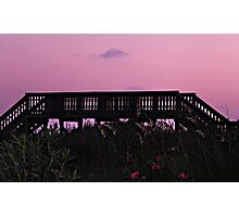 Sunset near ocean  Photographic Print