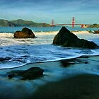Heading for the Golden Gate by Xcarguy