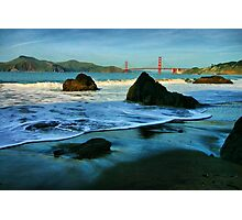Heading for the Golden Gate Photographic Print