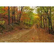 Rainbow Lane Photographic Print