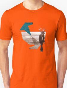 Deer over city T-Shirt