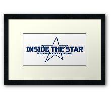 Inside The Star Modern Focus Framed Print