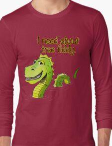 Loch Ness Monster Tree Fiddy Long Sleeve T-Shirt
