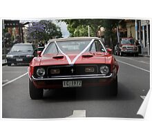 Mustang Convertable  Poster