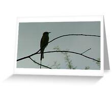 Bird on a tree Greeting Card