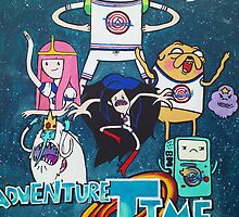Adventure Time x Space Jam  by gabriellephipps