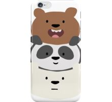 Bear Stack  iPhone Case/Skin