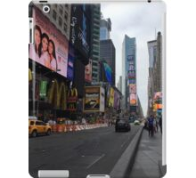 Walking Through the Heart of American Culture iPad Case/Skin