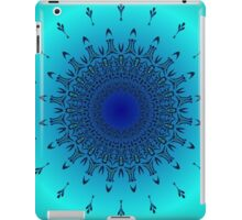 Blue Symmetry 2 iPad Case/Skin