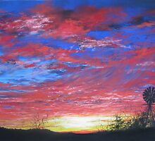 Sunset Fire by Sally Ford