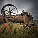 Old Machinery by Philip Hallam