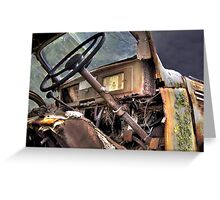 International Truck, Nubeena, Tasmania Greeting Card