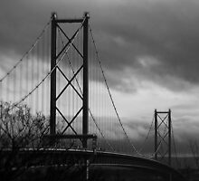 The Forth Road Bridge. by Aj Finan