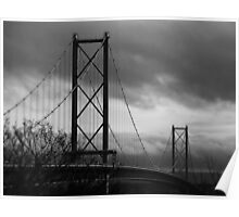 The Forth Road Bridge. Poster