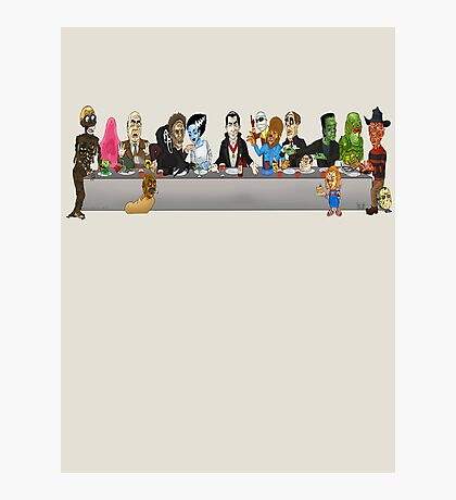 Monsters Last Supper  Photographic Print