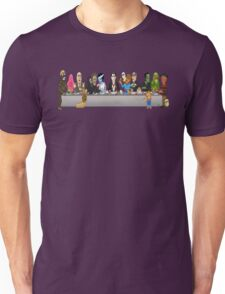Monsters Last Supper  Unisex T-Shirt