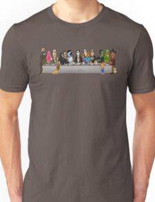 Monsters Last Supper  Unisex T-Shirt