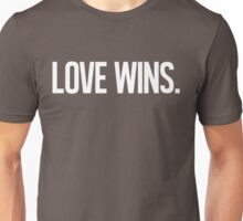LOVE WINS. Unisex T-Shirt
