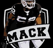 Khalil Mack - Oakland Raiders by twyland