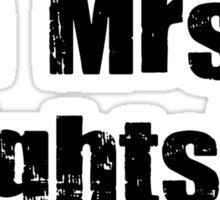 mrs. brightside 2 Sticker