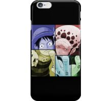 one piece straw hat monkey d luffy trafalgar law anime manga shirt iPhone Case/Skin