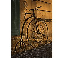 Penny Farthing, Oamaru, New Zealand. Photographic Print