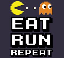 Eat, Run, Repeat Unisex T-Shirt