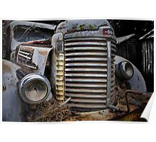 International Truck, Nubeena, Tasmania. Poster
