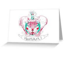Hummm !  Greeting Card