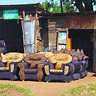 Furniture shop in Nairobi - KENYA by Atanas NASKO