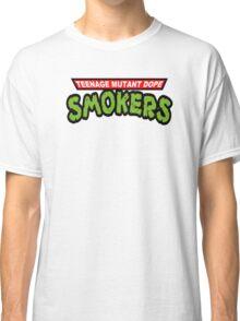 Teenage Mutant Dope Smokers Classic T-Shirt