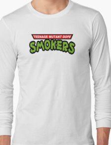 Teenage Mutant Dope Smokers Long Sleeve T-Shirt