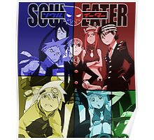 soul eater maka death soul tsubaki black star anime manga shirt Poster