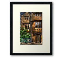 Broad Street House - Oxford, England Framed Print