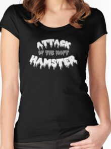 Attack of the 100ft Hamster Women's Fitted Scoop T-Shirt