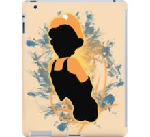 Super Smash Bros. Orange Luigi Silhouette iPad Case/Skin