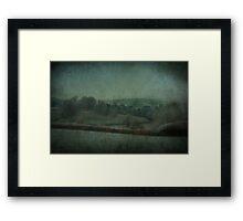 Across the Fields Framed Print