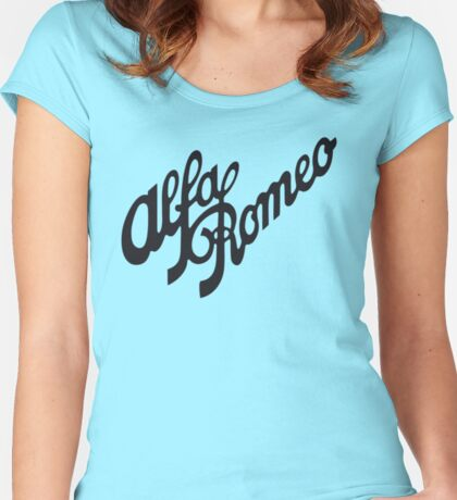 Alfa Romeo Women's Fitted Scoop T-Shirt