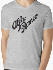 Alfa Romeo Mens V-Neck T-Shirt