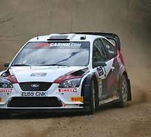 Ford Focus - rally car by Mark Pelleymounter