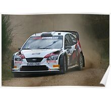 Ford Focus - rally car Poster