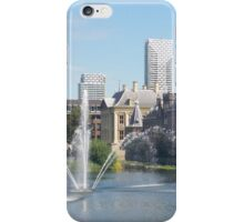 The Hague Summer City Fountain - Holland iPhone Case/Skin