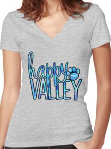 Happy Valley Galaxy Women's Fitted V-Neck T-Shirt